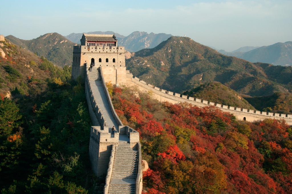 Великая Китайская стена - чудо света