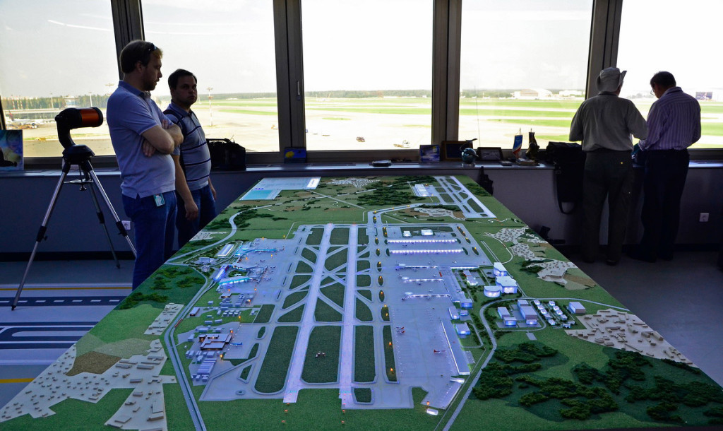 Проект территории взлетно-посадочной полосы международного аэропорта «Шереметьево» (ВПП-3)