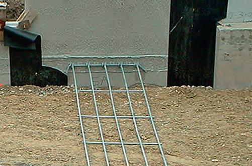 Решетка из гальванизированной стали Терре Арме