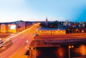 Вид на Обводный канал Санкт-Петербурга