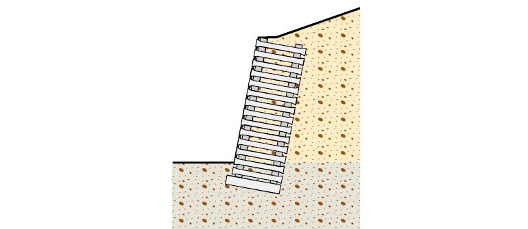 Схема устройства стенки Крайнерванд