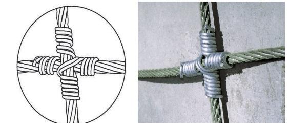 Высокопрочный узел канатной НЕА-панели