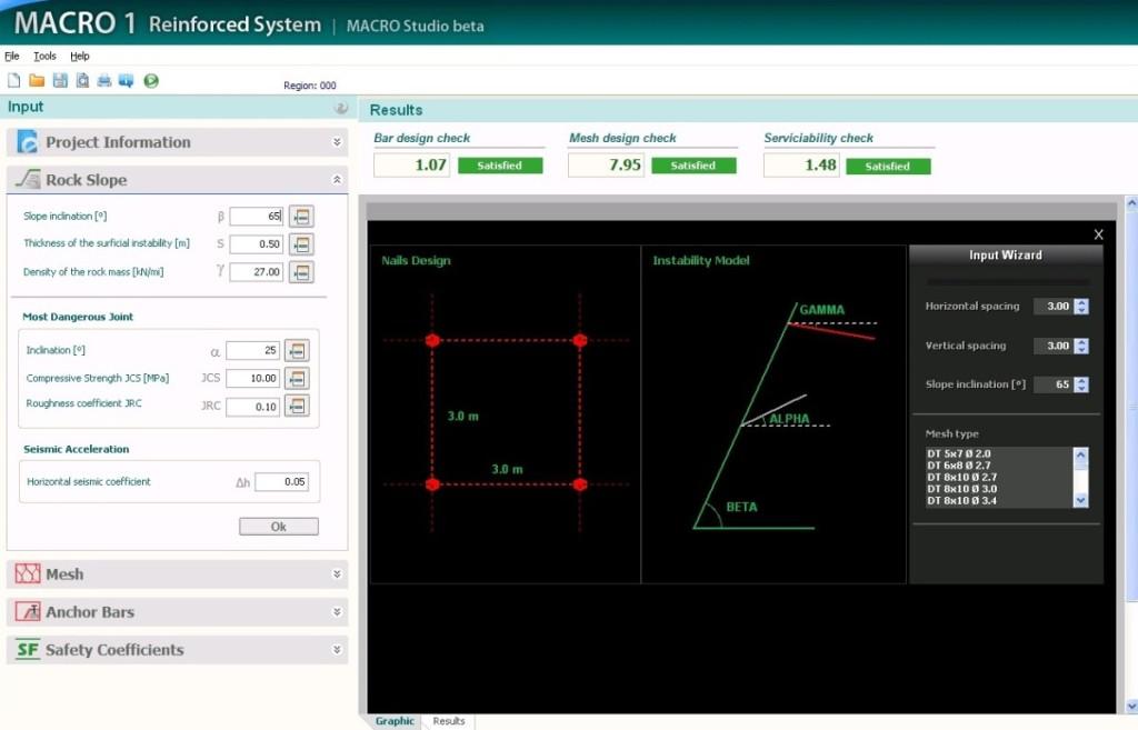 Рис. 12. Интерфейс MacRO2 для драпировки с армированием