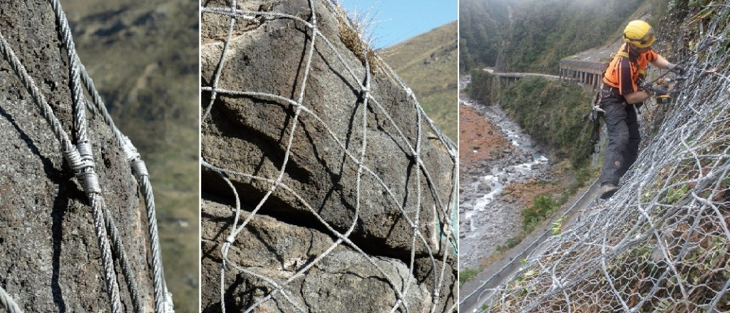 Применение НЕА-панелей на сильнотрещиноватых склонах
