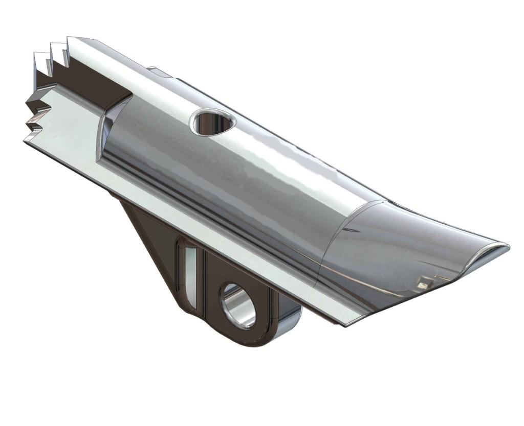 3D-модель грунтового анкера АД