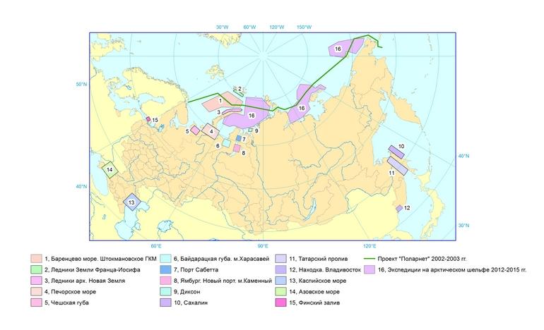 Ледовые изыскания ААНИИ на арктическом шельфе: 20 лет практического опыта и развитие технологии в Арктике и на замерзающих морях России