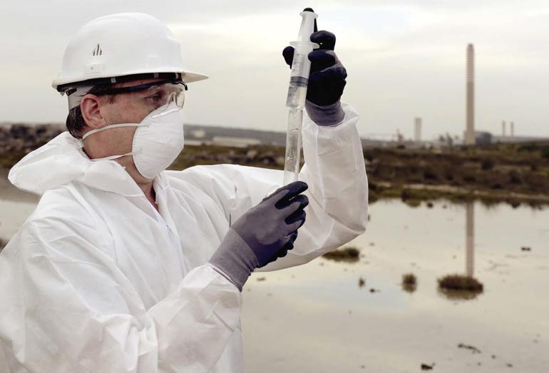 Анализ степени загрязнения нефтью