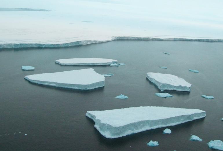 Рис. 5. Арктические ледники — источник айсберговой опасности для высокоширотных месторождений
