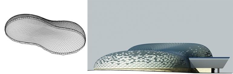 Архитектурная концепция многофункционально- спортивного комплекса