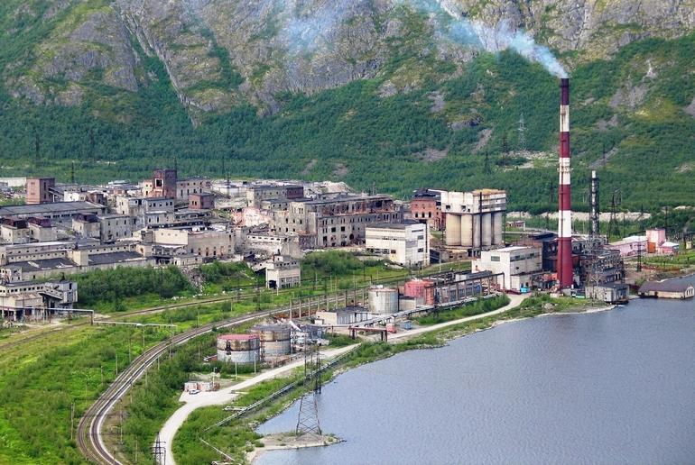 Панорама Кировска