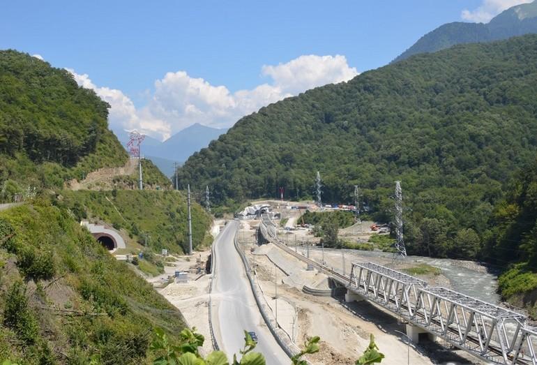 Геоморфологические особенности территории совмещенной дороги