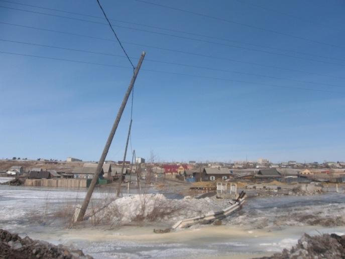Наледь на руч Смоленский