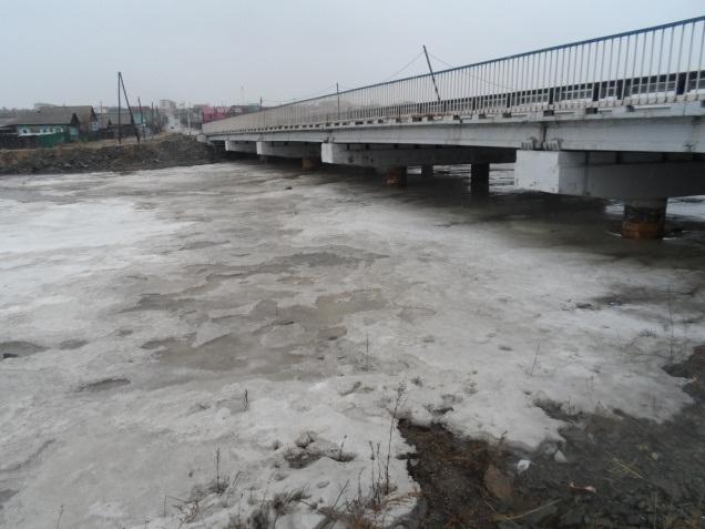 Мост через руч. Смоленский