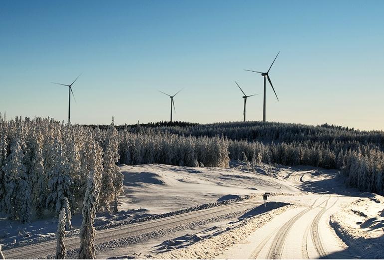 Ветрогенераторы в Швеции