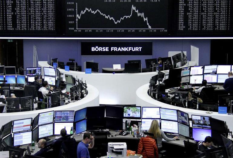 Экран фондовой биржи