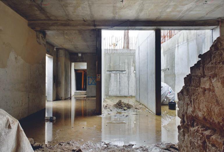 Недостроенные помещения