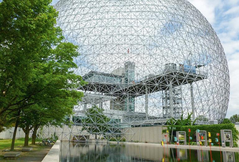 Выставочный павильон США «Экспо-67» в Монреале