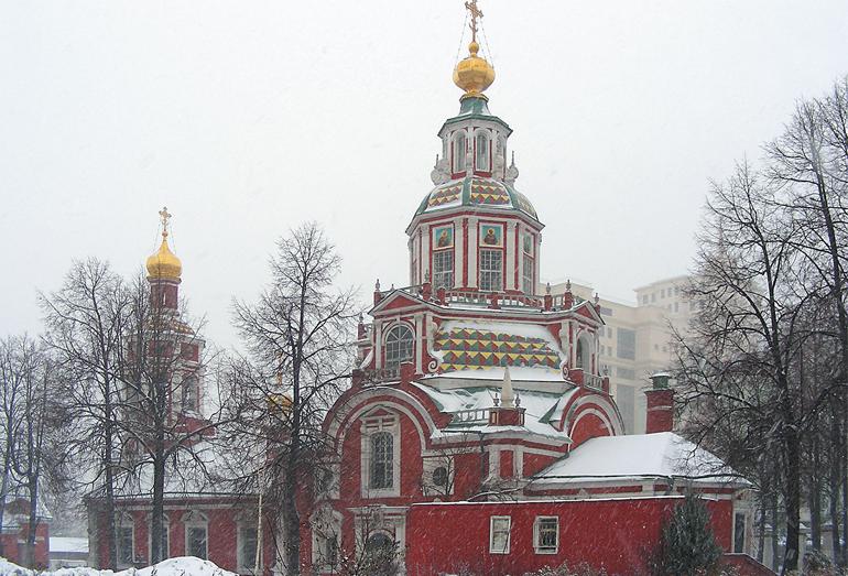 Москва. Церковь Иоанна Воина на Якиманке