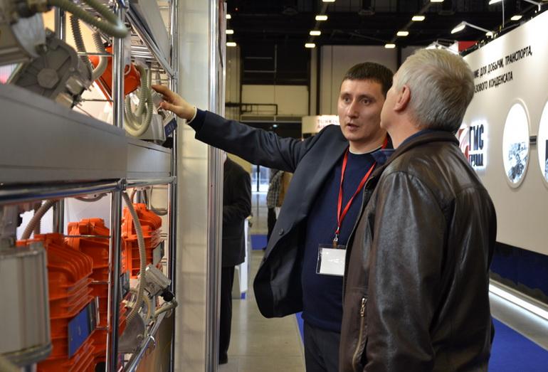 Выставочная экспозиция 15-го Петербургского международного энергетического форума