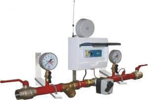 Образец модуля регулирования теплопотребления