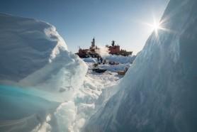 Как буксировать айсберги
