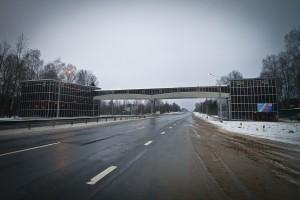 Цельнокомпозитный мост, федеральная трасса М1