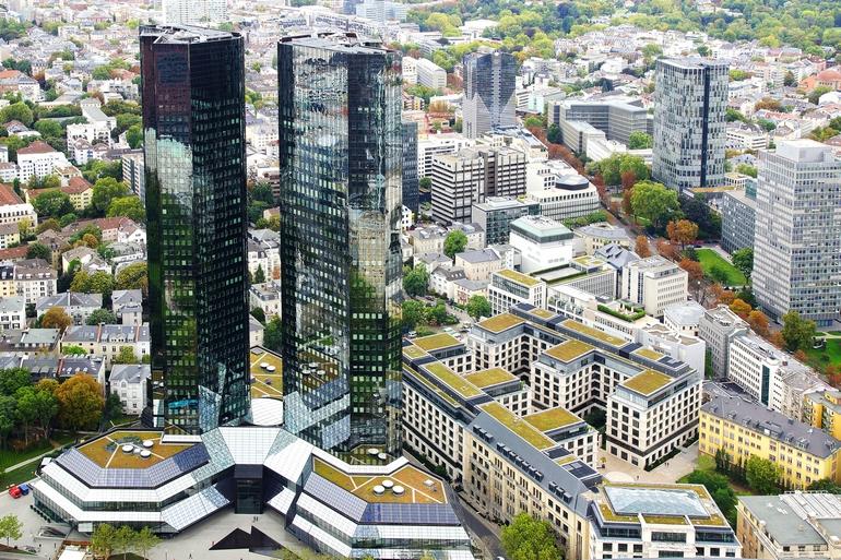 Офис Deutsche Bank
