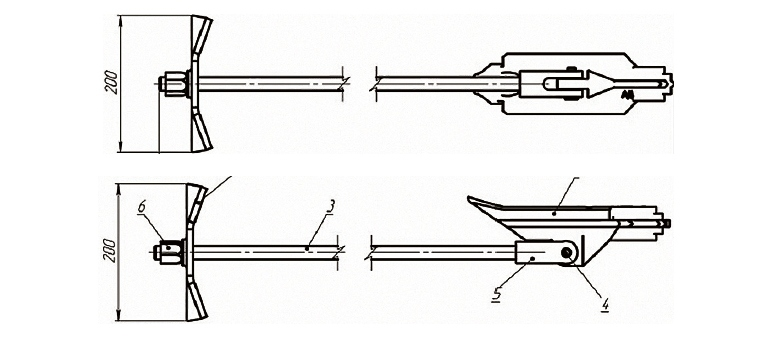 Конструкция грунтового анкера АД