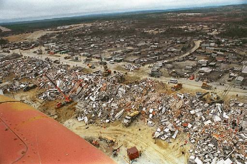 Результаты землетрясения 27 мая 1995