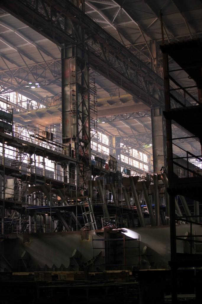 Строительство ледоколов проекта 21900 М на Выборгском судостроительном заводе