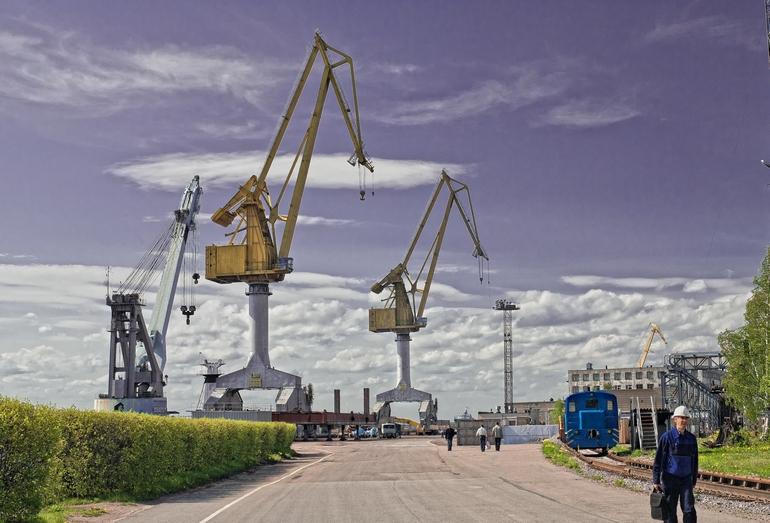 Территория Выборгского судостроительного завода