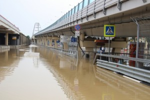Наводнение в Сочи в июне 2015