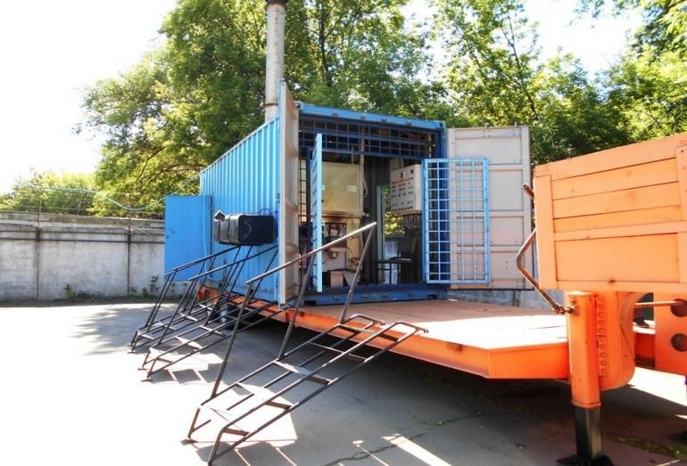 Синтезатор топлива контейнерного типа ПРОК