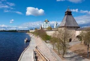 Реконструкция набережной реки Великой в Пскове