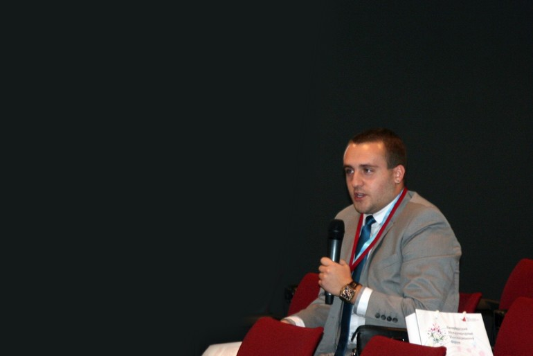 Менеджер отдела маркетинга ООО «Престо- Русь» Александр Крупник