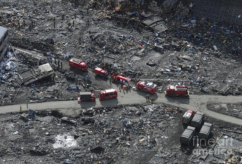 Последствия землятресения в Японии 2011 года