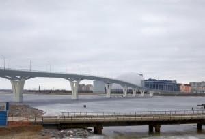 Визуализация моста между Крестовским островом и Приморским районом