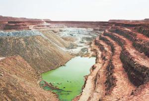 Урановый рудник Tamgak в департаменте Арлит, Республика Нигер