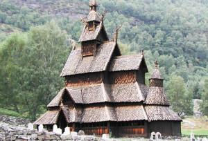 Церковь из Гуля. Норвежский народный музей, Осло