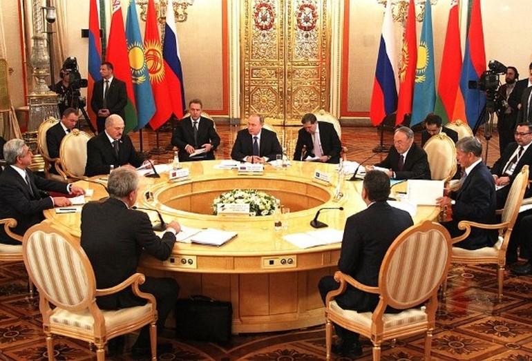 Заседание правительства на РМЭФ
