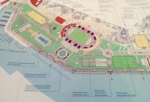 План реконструкции набережной в Хабаровске