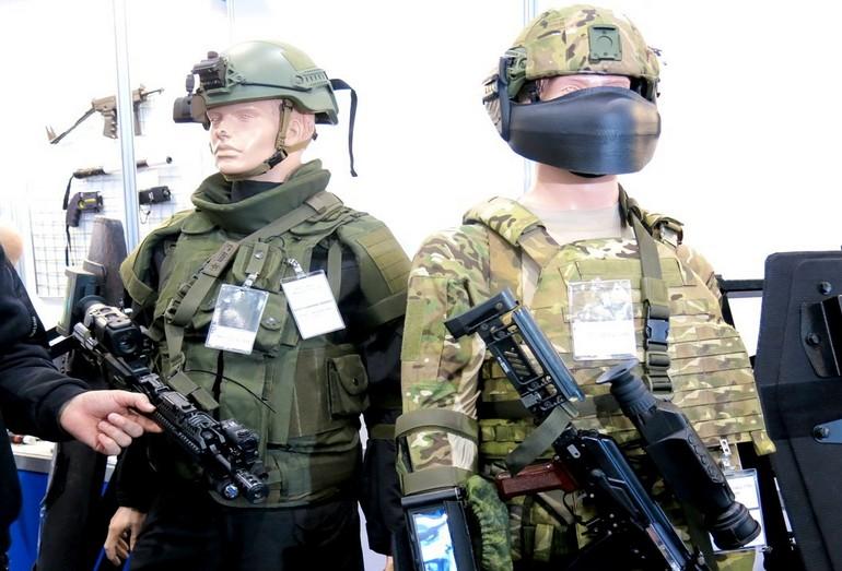 Специальная экипировка для военных