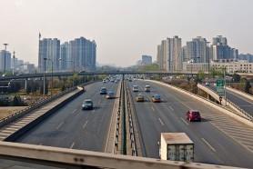 Автомобильная развязка в районе Чаояна, Пекин