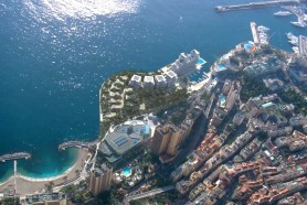Визуализация проекта по созданию искусственной территории в Монако