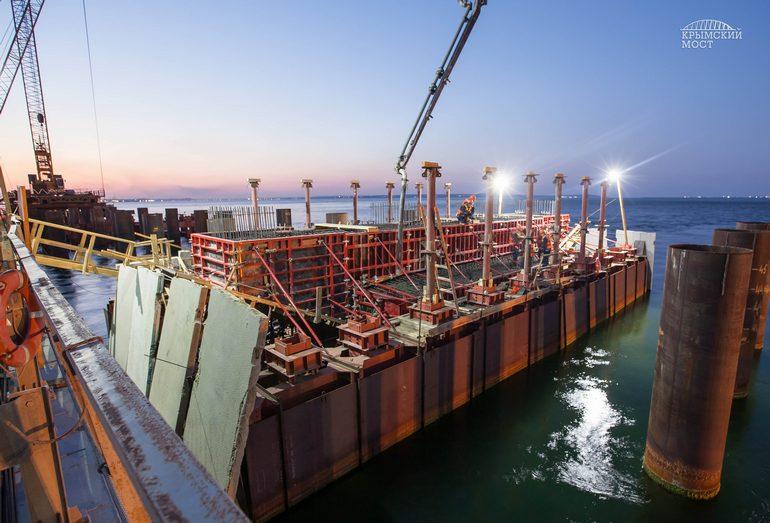 Строительства моста через Керченский пролив